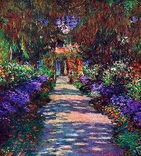 Arte E Artistas Os Jardins De Monet Em Giverny