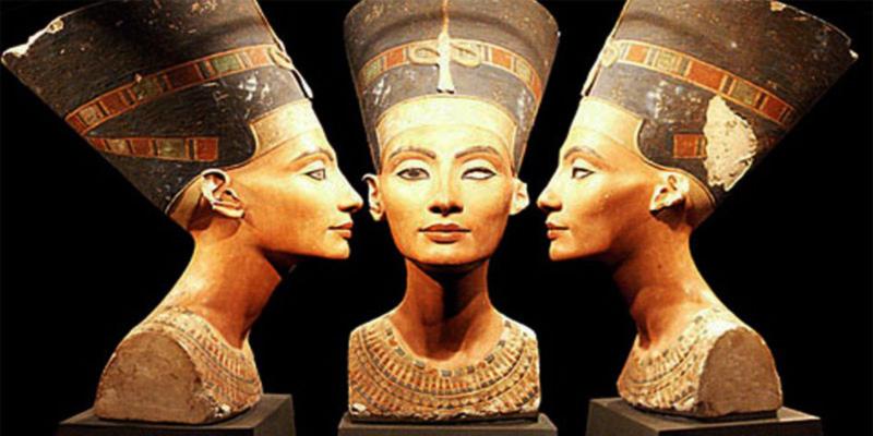 Arte e Artistas - Busto de Nefertiti