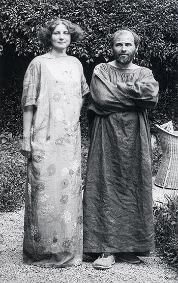 Biografia de Gustav Klimt - maior paixão