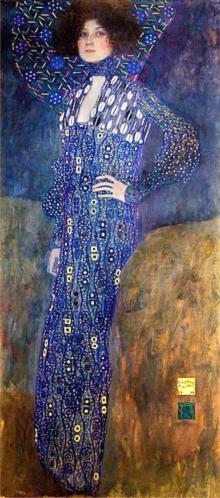 Biografia de Gustav Klimt - emilie floge