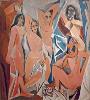 Arte e Artistas - Les Demoiselles d'Avignon - Pablo Picasso