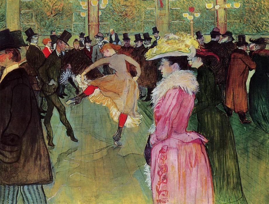 Arte E Artistas A Danca No Moulin Rouge De Toulose Lautrec